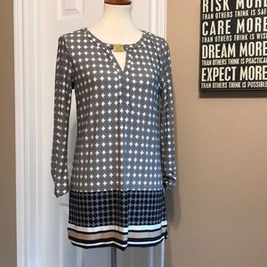 NWOT Anne Klein keyhole tunic size small 🧡